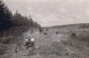 Udgravning til stadion
